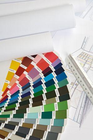 a photo of blue prints home Plans