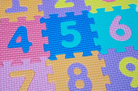photo of a numbers over a white background Stock Photo - 753555