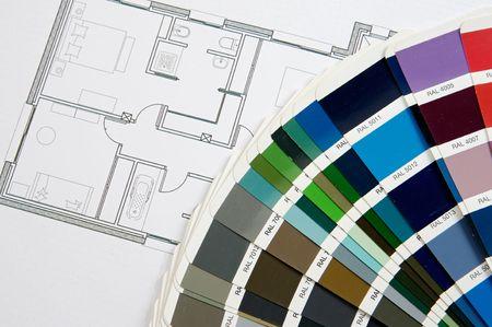 a photo of blue prints home Plans photo