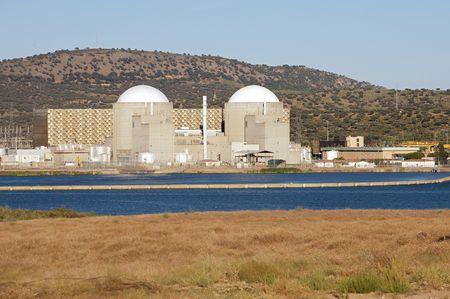 evaporarse: La energ�a nuclear estaci�n con dos reactores at�micos