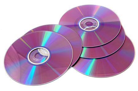 gigabytes: CD background ,  a over white background