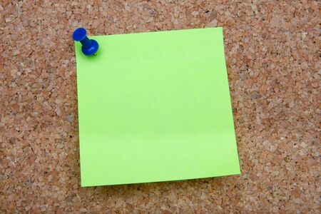 memorise: Photo of note posted to a cork board