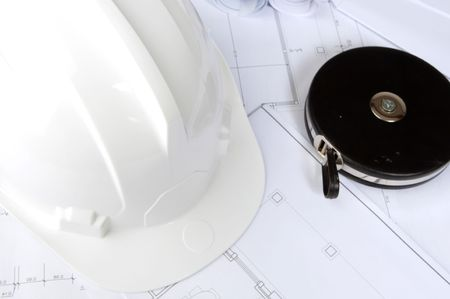 Many objects of work in an architectural Stock Photo - 4603567