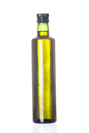 Oil bottle isolated on a over white background Stock Photo - 6504615