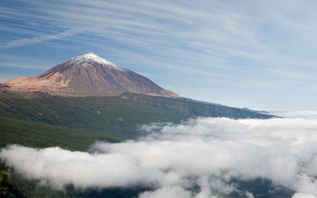 inactive: Teide spanish inactive volcano Stock Photo