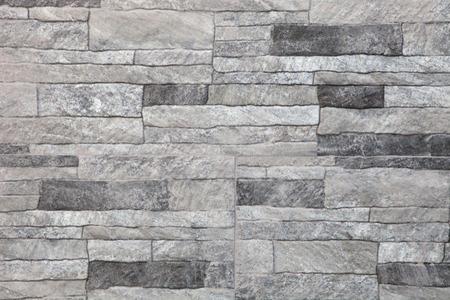 decorative wall: Granite stone gray decorative brick wall seamless background