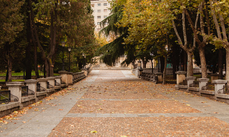 owning: Beautiful place in Salamanca in the center of Spain Stock Photo