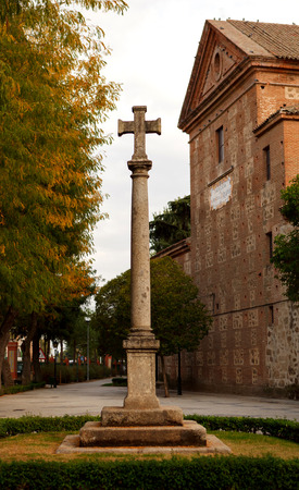 Cross of the fallen, in commemoration of the dead of the Spanish Civil War