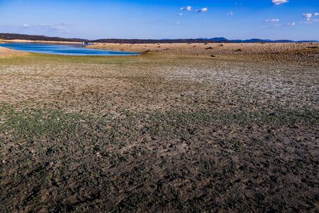 Spanish reservoir almost empty due to drought