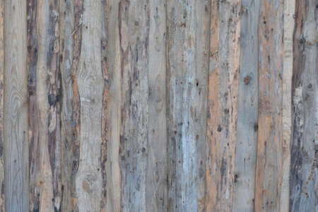 Rustic aged grungy rough wood boards, old wooden fence, background and texture.