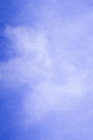 sfondo nuvole: Sfondo azzurro del cielo. Nuvole.