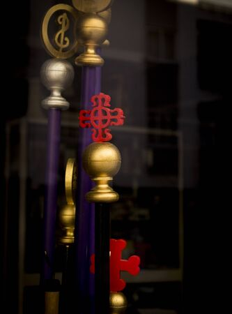 crosscountry: Catholic symbols used in the processions of Holy Week in Spain