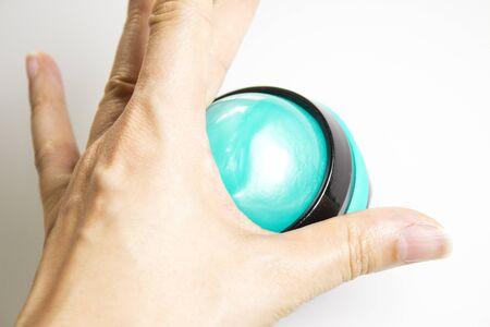 リラックスボディマッサージのためのロールオンボール 写真素材