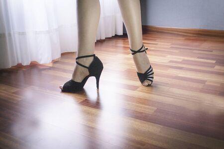 Salsa woman dance