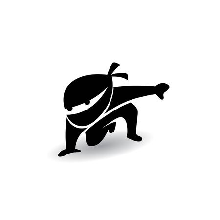 Black Ninja in steady style