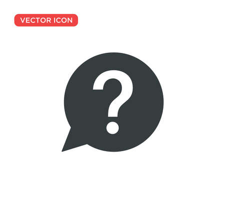 Question Mark Sign Icon Vector Illustration Design Editable Resizable