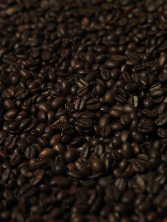 short focal depth: Coffee beans