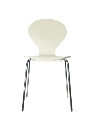 pices: chair against white background Stock Photo