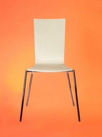 pices: chair against red