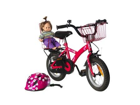 Child«s bicycle photo
