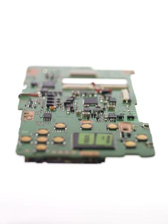 short focal depth: Circuit Board