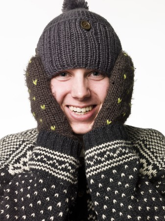 Man in winter-clothes Stock Photo - 4519663