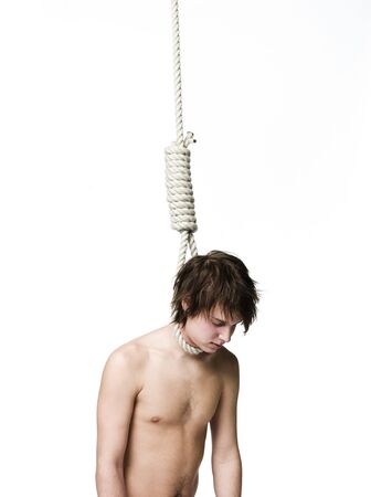Suicide by hanging Stock Photo - 4552580