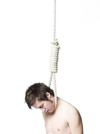 Suicide by hanging Stock Photo - 4552581