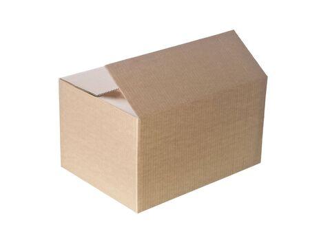 boite carton: Bo�te en carton ouvert