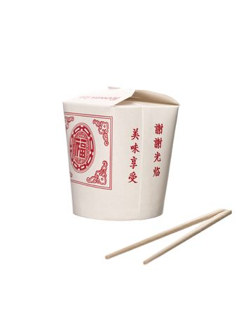 Chinese Takeout food container photo