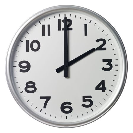 o�??clock: Dos son las
