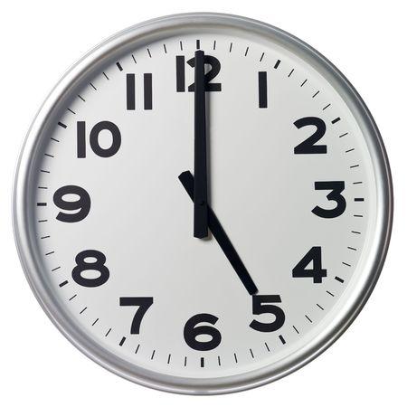 o�??clock: Cinco son las