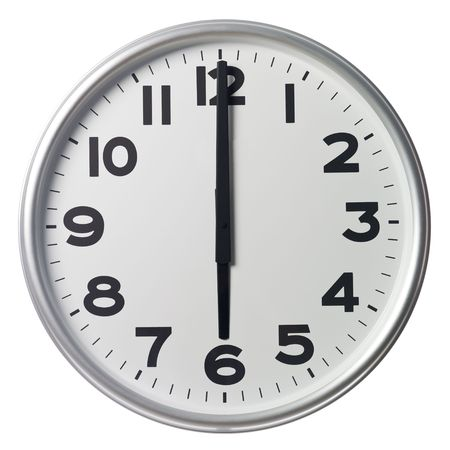 Six O'Clock Stock Photo - 5375374