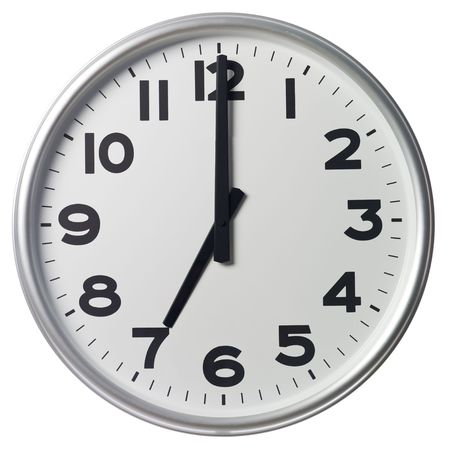 Seven O'Clock Stock Photo - 5375358