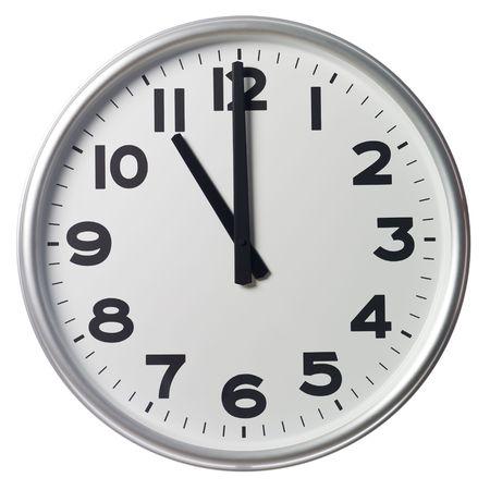 o�??clock: Once de la ma�ana