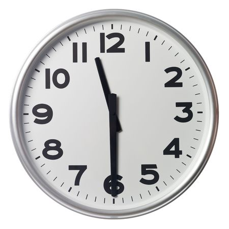 Half past eleven Stock Photo - 5375368