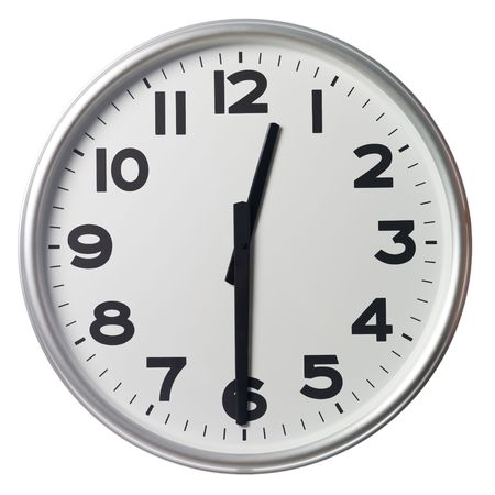 Half past twelve Stock Photo - 5375361