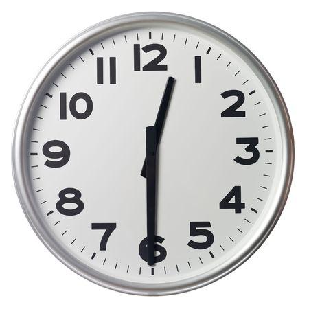 mict: Half past twelve