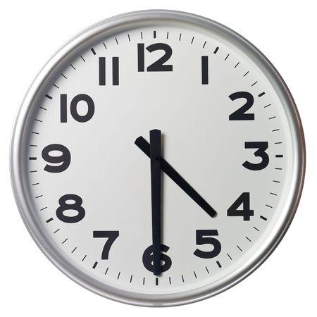 mict: Half past four