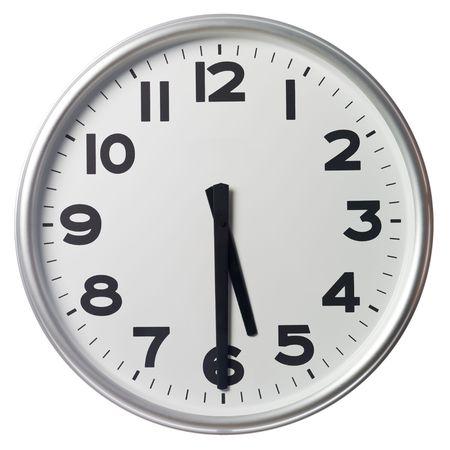 mict: Half past five Stock Photo
