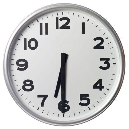 mict: Half past six