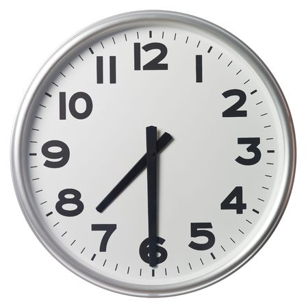 Half past seven Stock Photo - 5375379