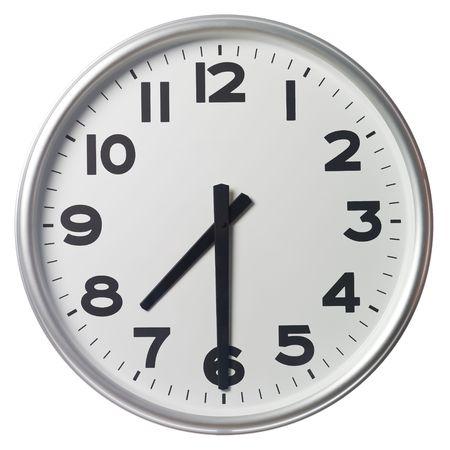 Half past seven Stock Photo - 5375379