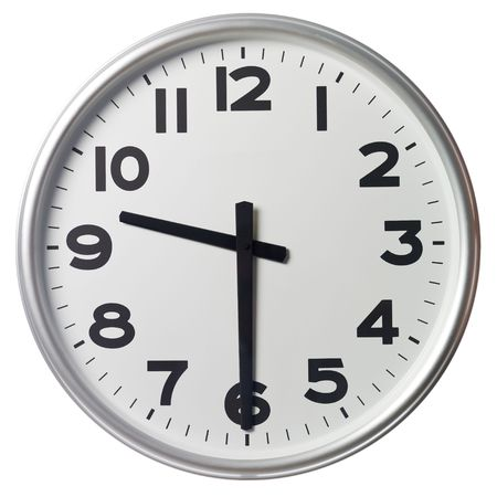 Half past nine Stock Photo - 5375367