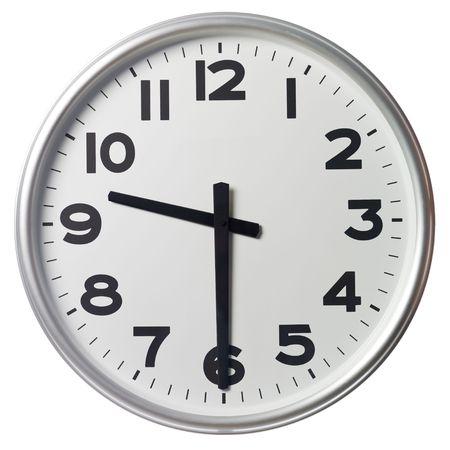 mict: Half past nine