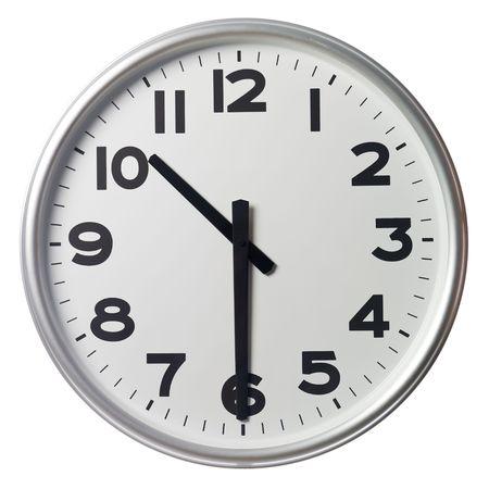 mict: Half past ten