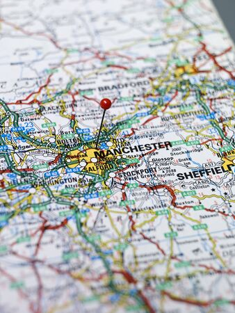 Map of Manchester photo