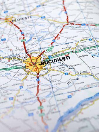 bucuresti: Map of Bucuresti
