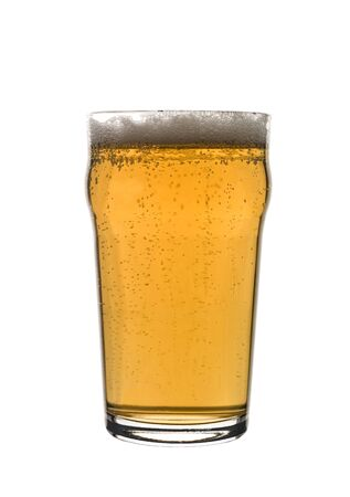 Pint of lager photo