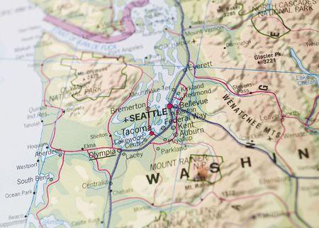 seattle: Map of Seattle